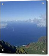 The Beautiful Na Pali Coast Acrylic Print