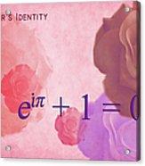 The Beauty Equation Acrylic Print