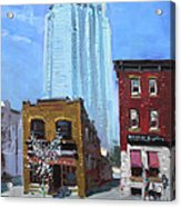 The Beauty N' The Background In London Canada Acrylic Print