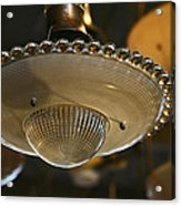 The Beauty Of A Vintage Glass Ceiling Light Acrylic Print