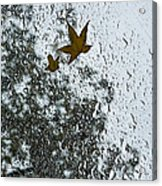 The Beauty Of Autumn Rains - A Vertical View Acrylic Print