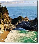 The Beauty Of Big Sur Acrylic Print