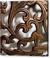 The Beauty Of Brass Scrolls 2 Acrylic Print