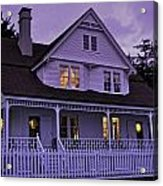 The Bed And Breakfast At Heceta Acrylic Print