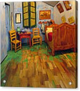The Bedroom Of Van Gogh At Arles Acrylic Print