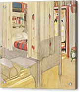 The Bedroom, Published In Lasst Licht Acrylic Print