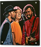 The Bee Gees Acrylic Print