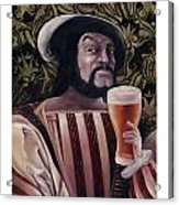 The Beer Drinker Acrylic Print