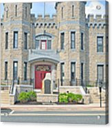 The Bel Air Maryland Armory 2 Acrylic Print