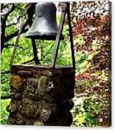 The Bell Tolls Acrylic Print