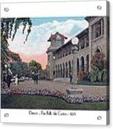 The Belle Isle Casino - Detroit - 1923 Acrylic Print