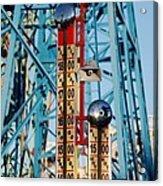 The Bells Of Coney Island Acrylic Print