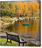 The Bench Acrylic Print