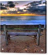 The Bench II Acrylic Print