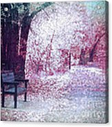 The Bench Of Promises Acrylic Print