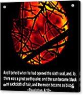 The Bible Revelation 6 Acrylic Print