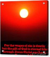 The Bible Romans 6 Acrylic Print