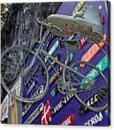 The Bicycle Peddler Acrylic Print