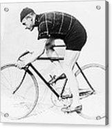 The Bicyclist - 1914 Acrylic Print