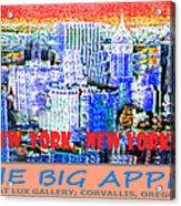 The Big Apple Acrylic Print