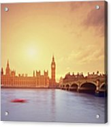 The Big Ben And Parliament In London Acrylic Print