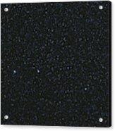 The Big Dipper And Comet Catalina Acrylic Print
