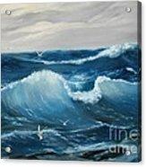 The Big Ocean Acrylic Print