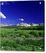 The Big Picture Acrylic Print