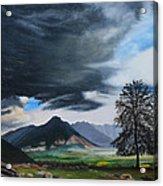 The Big Storm Acrylic Print