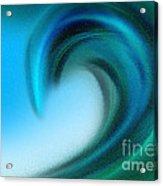 The Big Wave Of Hawaii 4 Acrylic Print