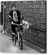 The Biker Acrylic Print