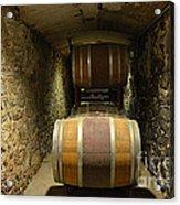 The Biltmore Estate Wine Barrels Acrylic Print