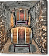 The Biltmore Estate Wine Barrels Acrylic Print