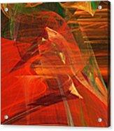 The Bird Whisperer . A120423.693 Acrylic Print