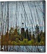 The Birdcage Lighthouse Of Baileys Harbor Paint  Acrylic Print
