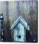 The Birdhouse Acrylic Print