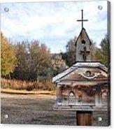 The Birdhouse Kingdom - American Kestrel Acrylic Print