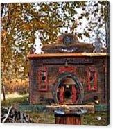 The Birdhouse Kingdom - Red-naped Sapsucker Acrylic Print