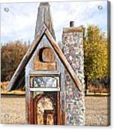 The Birdhouse Kingdom - The American Coot Acrylic Print