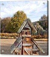 The Birdhouse Kingdom - The American Dipper Acrylic Print