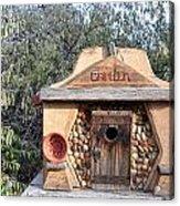 The Birdhouse Kingdom - The Evening Grosbeak Acrylic Print