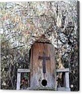 The Birdhouse Kingdom - The Olive-sided Flycatcher Acrylic Print