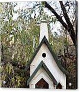 The Birdhouse Kingdom - The Pileated Woodpecker Acrylic Print