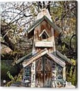 The Birdhouse Kingdom - The Red Crossbill Acrylic Print