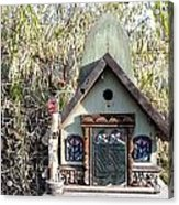 The Birdhouse Kingdom - The Western Tanager Acrylic Print