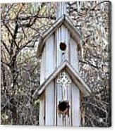 The Birdhouse Kingdom - The Western Wood-pewkk Acrylic Print