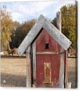 The Birdhouse Kingdom - Western Bluebird Acrylic Print