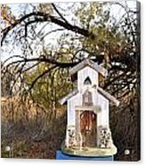 The Birdhouse Kingdom - Wilson's Warbler Acrylic Print