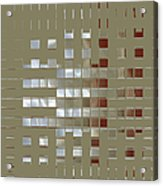 The Birth Of Squares No 1 Acrylic Print