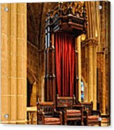 The Bishops Chair II Acrylic Print